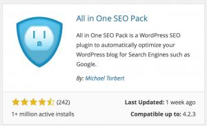 Choosing a WordPress plugin